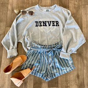 Wild Fable Denver Colorado crop sweatshirt